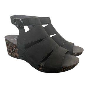 Dansko New Women's Sandal Sera Black size 38